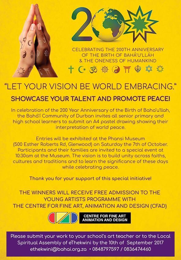 Bahai Durban Exhibition