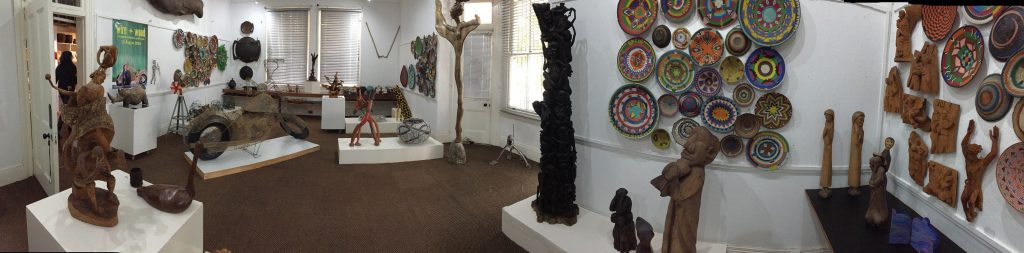 Wire and Wood Exhibition