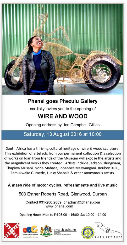 Wire and Wood Invite-